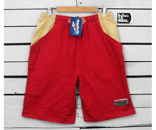 90´s REEBOK NFL SAN FRANCISCO Shorts NWT