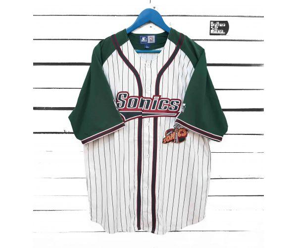 90´s STARTER NBA Sonics Baseball Shirt