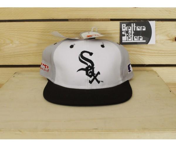 90´S CAP CMP MLB WHITE SOX NWT